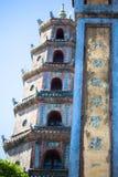 Ton pagoden Tu Hieu royaltyfri foto