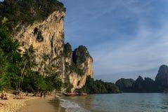Ton Sai. Is a beach near Krabi in Thailand Royalty Free Stock Photography
