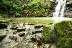 Ton Sai Waterfall Imágenes de archivo libres de regalías