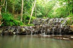 Ton Sai Waterfall es Sai Foto de archivo