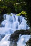 Ton Tok Waterfall. Trang, Southern Thailand - Asia Stock Image