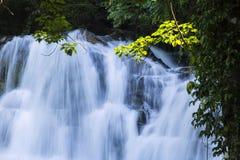 Ton Tok Waterfall. Trang, Southern Thailand - Asia Stock Photo