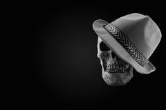Ton toujours d'obscurité de crâne de la vie Photographie stock