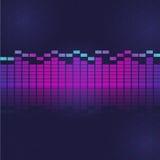 Ton- und Audiowellenentzerrer Lizenzfreies Stockfoto