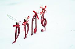 Ton von Weihnachten Stockfoto