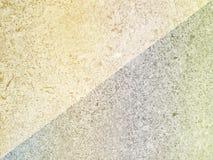 Ton weicher Farbzementhintergrund der Diagonalen zwei Stockfotos