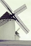tonade den gammala spanjoren för bild windmills Royaltyfri Fotografi