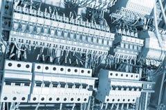 Tonade elektriska tillförsel Royaltyfri Foto
