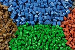 Tonade plast- kulor Royaltyfri Foto