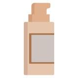 Tonal cream tube icon. Vector illustration flat style design isolated on white. Colorful graphics Stock Photos