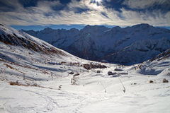 Tonale Pass Royalty Free Stock Photo
