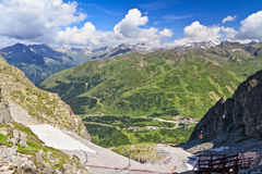 Tonale pass Royalty Free Stock Photography