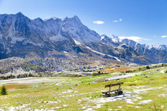 Tonale pass, Lombardy, Italy Stock Images