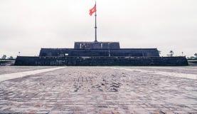 Tonalidad de la torre de la bandera fotografía de archivo libre de regalías