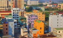 TONALIDAD, opinión de la mañana de VIETNAM marzo de 2013 - en la tonalidad, Vitenam Es muy hermoso y pacífico Fotos de archivo