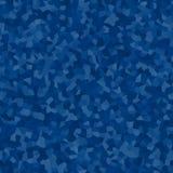 Tonalità astratte di fondo piacevole quadrato blu illustrazione di stock