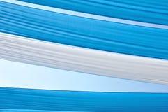 Tonalità blu a strisce Immagine Stock