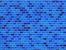 Tonalità della parete d'annata delle piastrelle di ceramica fotografia stock libera da diritti