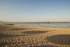 Tonalità su una spiaggia immagine stock