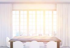 Tonalité en bois de table de cuisine Photo libre de droits