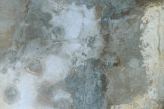 Tonalité grise et bleue de vieux plâtre Photos libres de droits