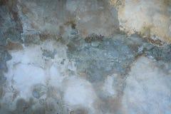 Tonalité grise et bleue de vieux plâtre Images stock