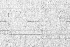 Tonar den vita väggen för yttersida av grå färger för stenväggen Royaltyfria Bilder