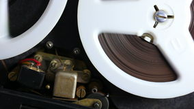 Tonbandgerät stock video footage
