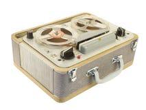 Tonbandgerät-Neigungansicht Stockbilder