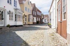 Tonder镇-丹麦 免版税库存照片