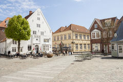 Tonder town - Denmark. Stock Photo