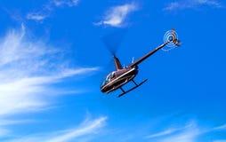 Tondeuse de l'hélicoptère R44 image libre de droits