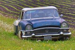 Tondeuse de Packard dans le fossé Images libres de droits