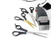 Tondeuses électriques Photographie stock