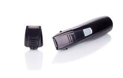 Tondeuses électriques avec le rasoir Photo stock