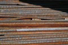 Tondo per cemento armato Fotografie Stock