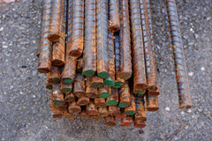 Tondo per cemento armato Fotografia Stock Libera da Diritti