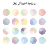 Tone Color Shade Background en pastel, mailles colorées de gradient illustration stock