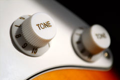 Tone knobs Royalty Free Stock Image