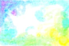 Tone Spectrum Watercolour Texture Background fraîche Image libre de droits