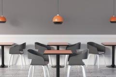 Toned cafe interior Royalty Free Stock Photo