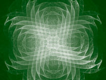 Toned color monochrome abstract fractal illustration. Stock Photos