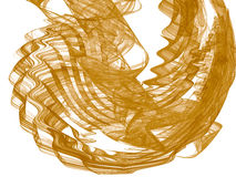 Toned color monochrome abstract fractal illustration. Raster clip art. Royalty Free Stock Images
