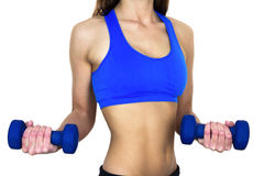 Toned Female Upper Body Stock Image