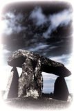 Toned Image Of The Pentre Ifan Royalty Free Stock Photo
