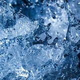 Toned image water splash Stock Photography