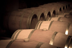 Toned image of  winery Royalty Free Stock Photography