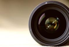 Toned monochrome background of lens flare object Stock Image