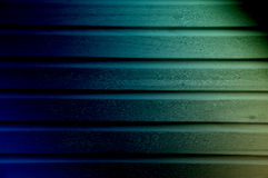 Toned multicolored wood panel siding  texture for banner and paper design Stock Photo