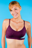 Toned Woman in Sportswear Royalty Free Stock Image